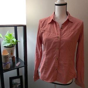 L.L. Bean Pink Button Down Long Sleeve Shirt - M